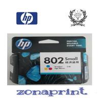 Tinta HP 802 colour/warna 💯original