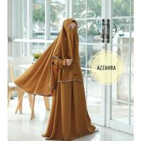 Gamis Anak Usia 8-10 Tahun Baju Muslim Anak Perempuan AZZAHRA SYARI