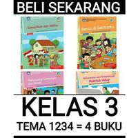 buku paket tematik sd kelas 3 tema 1234 kelas 3 sd semester 1 Rev 4 bk