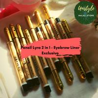 Pensil Alis Lyra Black - Eyebrow Liner Exclusive