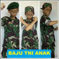 Baju tentara anak Baju TNI AL loreng Kostum Loreng TNI Angkatan Laut