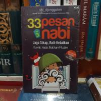 Buku 33 Pesan Nabi Jaga Sikap,Raih Kebaikan Komik Hadis Bukhari-Muslim