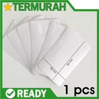 Sticker Anti Gores Kartu Stiker Transparan Melindungi KTP ATM SIM