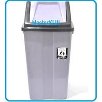 Tempat Sampah / Tempat Sampah Tutup Goyang 42 Liter