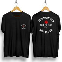 T-shirt Surprise Flower / Baju Kaos Distro Pria Wanita Cotton 30s
