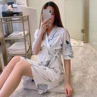 Baju Tidur Wanita Model Kimono import Kekinian Motif 1