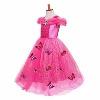 baju princess anak perempuan dress princess anak gaun pesta anak 2