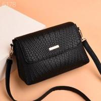 Tas Selempang Wanita Import Promo Murah Tas Bahu Leather Fashion Korea