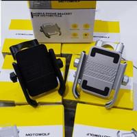 Phone Holder Stand Hp Sepeda Motor Motowolf
