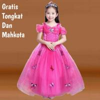 baju princess anak kostum princess anak gaun anak perempuan 2
