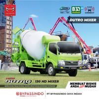 HINO TRUCK DUTRO 130 HD MIXER