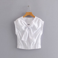 Baju Atasan Wanita White Shawl Import