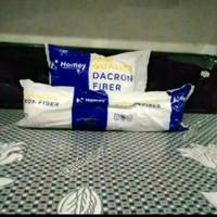 Bantal Guling Dacron Dakron Homey Medium Firm