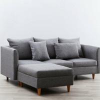 Sofa L dengan storage