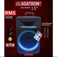 Speaker Asatron 15 inch / speaker wireless meeting Asatron RMS 50W