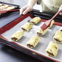 POMPON Food Grade Silicone Brush Baking Tool Kuas Kue Roti Food Brush