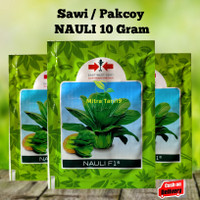 Bibit Benih Sayur Hidroponik Sawi Pak Choy Nauli 10 gr CAP PANAH MERAH