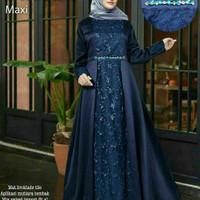 baju Gamis Batik wanita Faizah Mix broklat