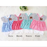 Sailor Bear Dress / Dress Bayi Lucu Murah / Baju Bayi Perempuan
