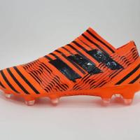 Sepatu Bola Adidas Nemeziz Orange Made in Vietnam
