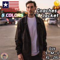 New States Apparel Coaches Jacket