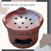 Anglo Tungku Kompor Tanah Liat kualitas halus tebal dan awet