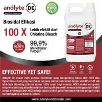 Disinfectant ANOLYTE DE (HOCl) 5 Liter. Disinfektan Aman Food Grade