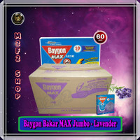 Obat Nyamuk Bakar Baygon MAX Jumbo Lavender Ungu - 150 gr