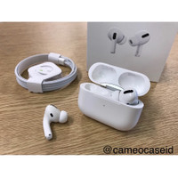 Apple Airpods PRO 2019 Clone 1:1 Super Copy With Wireless Charging Cas - Putih, AIRPODS PRO