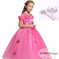 gaun princess anak kostum princess anak baju princess anak perempuan 2