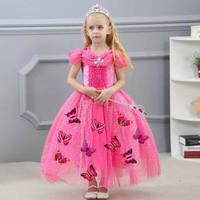 gaun princess anak baju princess anak perempuan kostum princess anak 2