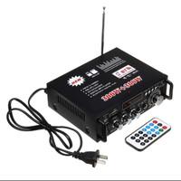 AMPLIFIER Bluetooth EQ Audio Amplifier Karaoke Home Theater FM Radio
