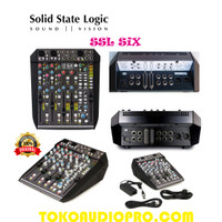 solid state logic ssl six soundcard audio mixer