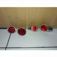 Stoplamp atau lampu belakang sepeda onthel klasik