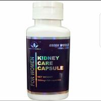 Kidney Care Capsule For Woman Green World Original/ Obat Ginjal Wanita