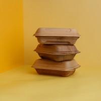 Kemasan Makan Ramah Lingkungan Eco Friendly Food Packaging Grosir