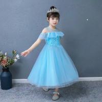 baju Princess Anak gaun princess anak gaun frozen baju frozen anak 1