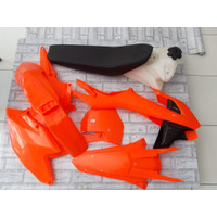 Body set KTM 250 HRV fluo orange