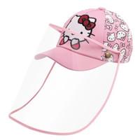 Topi Anak Anti Corona Pink Hellokittu