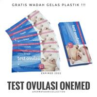 Ovulation LH Test Strip Alat Tes Ovulasi Kesuburan Masa Subur OneMed