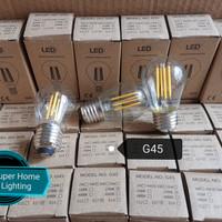 Lampu Led Filamen G45 4watt E27 Bohlam