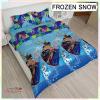 Bedcover Lady Rose King 180x200 - Frozen snow