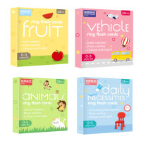 Baby or Kids Flashcard / Montessori English Game