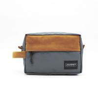 Journey - Athena Grey Gadget Organizer Pouch Dopp Kit Hand Bag Unisex