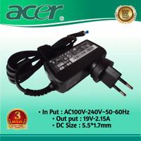 Adaptor Charger Laptop Acer Aspire One 722 AO722 AOD722 19V-2.15A Ori