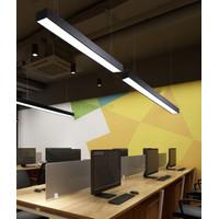 Lampu office gantung led hanging office Kantor Cafe Pendant 5cm Kantor - PUTIH 6000K
