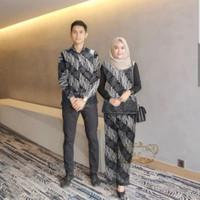 couple delon abu baju pasangan sarimbit batik harga sepasang del at