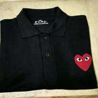 polo shirt cdg play