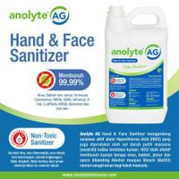 ANOLYTE AG 5 Liter. Hand Sanitizer Non Alkohol Food Grade