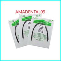 kawat niti gigi/kawat behel gigi 012 014 016 UPPER LOWER - 012 UPPER
